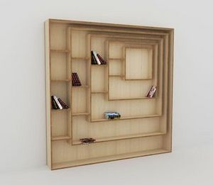 MALHERBE EDITION - carré - Bookcase