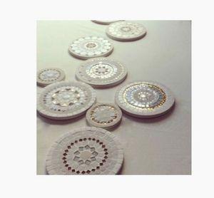 ANIS ET CÉLADON - Delphine Lescuyer -  - Plate Coaster