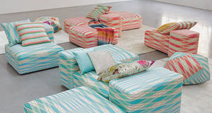 Missoni Home - poppies day - Furniture Fabric