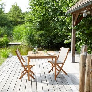 Outdoor dining room - Garden tables | Decofinder