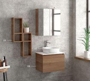 ITAL BAINS DESIGN - space melamine 60 2 - Bathroom Furniture