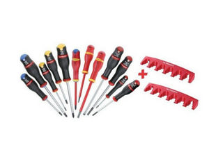 GROUPE CHAMPION - jeu de 12 tournevis - Screwdriver