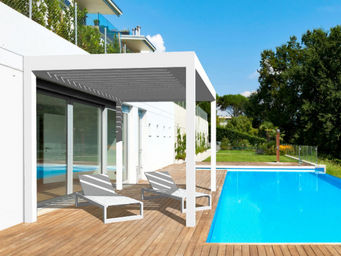 STORES MARQUISES - -open'r - Attached Pergola