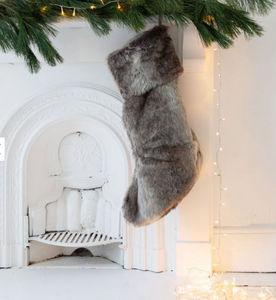 Graham & Green - fausse fourrure - Christmas Stocking