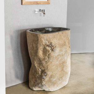 WANDA COLLECTION -  - Pedestal Washbasin