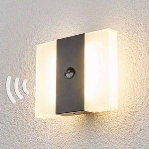 Lampenwelt - applique d'extérieur à détecteur 1414606 - Outdoor Wall Light With Detector