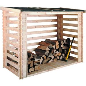 JARDIPOLYS -  - Fire Wood Shed