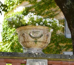 Poterie de La Madeleine - patine ancienne - Garden Vase