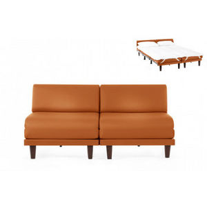 Likoolis - pacduo80s-cuirdevonorange - Daybed