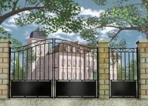Profession Menuisier -  - Entrance Gate