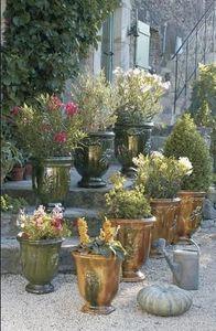 POTERIE TERRE FIGUIERE -  - Anduze Vase