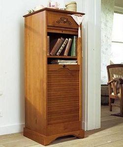 Vertical tambour filing cabinet
