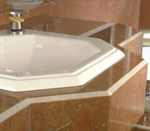 Marbrerie Des Yvelines -  - Washbasin Counter