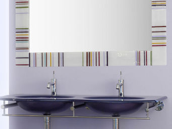 COURANT VERRE -  - Washbasin Counter
