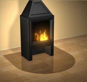 Fireplace mat