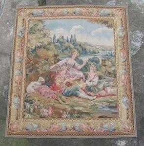 Galerie Girard - l'oiseleur - Classical Tapestry
