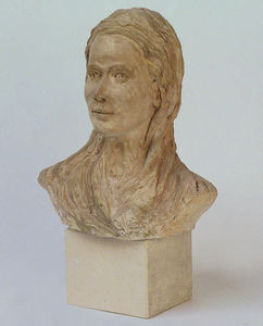 FLORENCE SECHAUD -  - Bust Sculpture