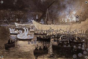 Naval painting