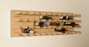 Cav in Wood - fakir-line - Wine Bottle Tote