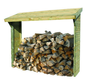 Burger - 830010 - Fire Wood Shed