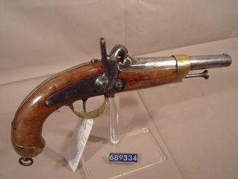 LE HUssARD - pistolet de cavalerie mle 1842 - Pistol And Revolver