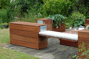 ABA-Design -  - Garden Bench With Storage