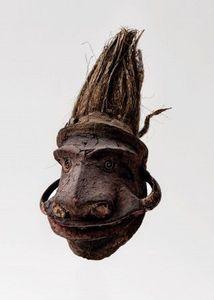 Expoca - masque d?épaule d?un rambaramp - Oceanian Mask