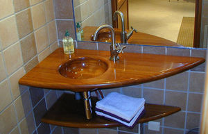 Image - plan d'angle - Wash Hand Basin