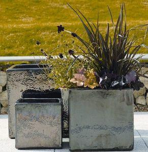 Riverhill Garden Supplies - apta mirror glaze cube - Flower Pot