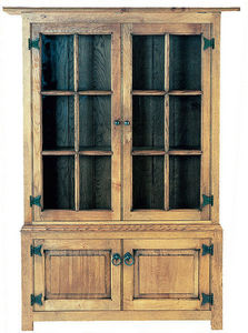 Batheaston - glazed display cabinet - Double Chest