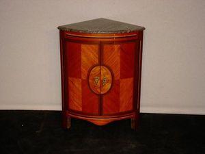 Baron Antiquités - encoignure louis xvi - Corner Cupboard