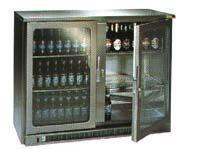 Electro-Refrigeration Services - double door drinks cabinet - Mini Refrigerator