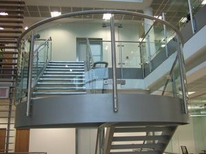 Toughglaze -  - Stair Railing