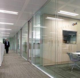 International - system 8000 solare - Partition Wall
