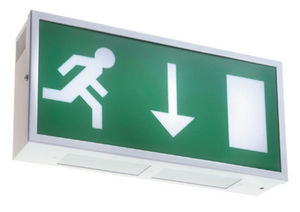 Emergency Lighting Products - metalite exit - Illuminated Sign