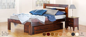 Warren Evans -  - Bed With Drawers