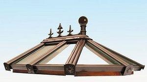 Newdawn & Sun - sunwood timber glazing system - Glass Roof