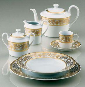 TUNISIE PORCELAINE -  - Tea Service