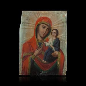 Expertissim - petite icône. europe centrale, fin du xixe siècle - Religious Icon