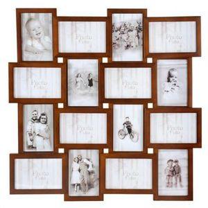 MAISONS DU MONDE - cadre 16 vues relief acajou - Photo Frame