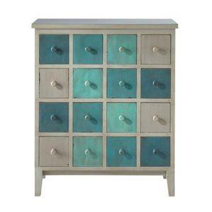 MAISONS DU MONDE - cabinet bleu solferino - Cabinet