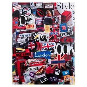 Maisons du monde - toile london tour - Contemporary Painting
