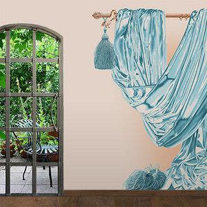 ATELIER MARETTE - draperie les wadden, wadden see, amrum - Panoramic Wallpaper