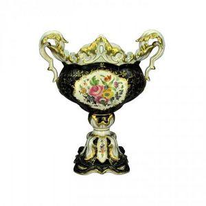 Demeure et Jardin - coupe montée napoléon iii noire - Decorative Cup