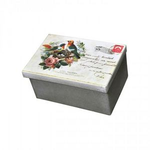 Demeure et Jardin - boite rectangulaire carte postale - Storage Box