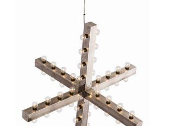 ALAN MIZRAHI LIGHTING - industrielle-chic arteriors - Chandelier