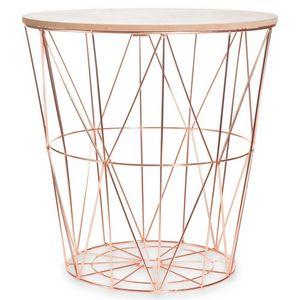 Maisons du monde - zigzag copper - Side Table