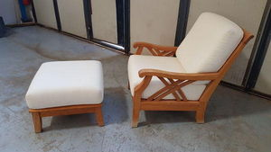 RIVIERA CBAY - halifax - Armchair And Floor Cushion