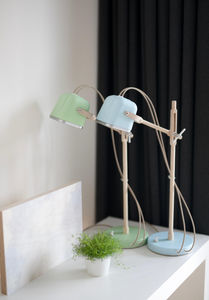 Swabdesign - mob wood pastel - Table Lamp