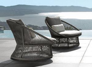 ITALY DREAM DESIGN - rope - Garden Armchair